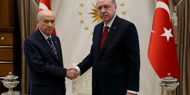 """Bahçeli'den Erdoğan'a """"Gereğini yapın"""" mesajı"""