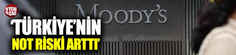 """Moody's: """"Türkiye'nin not riski arttı"""""""