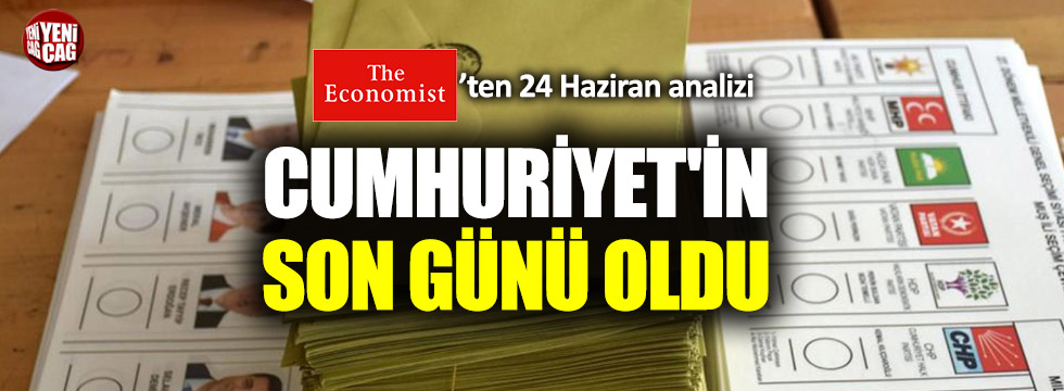 Economist'ten 24 Haziran analizi