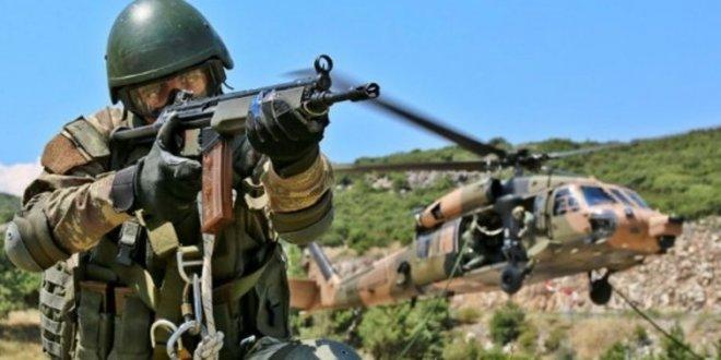 Hakkari'de 9 PKK'lı öldürüldü