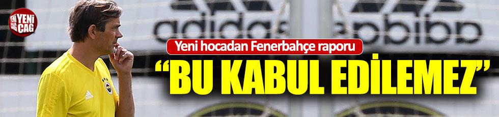 Cocu'dan Fenerbahçe raporu