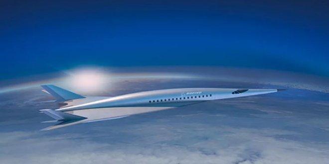 Ses hızının 5 katına çıkabilen uçak geliştirildi