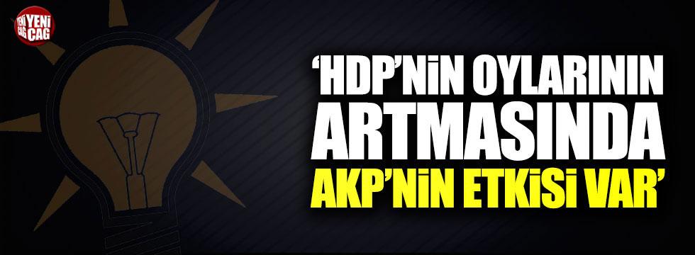 Abdüllatif Şener: HDP'nin oylarının artmasında AKP'nin etkisi var