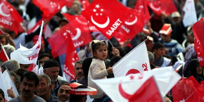 Saadet Partisi'nden Erdoğan'a toplantı çağrısı