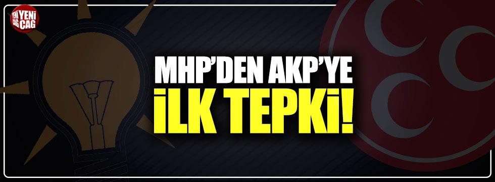 Bahçeli'nin yardımcısı AKP ile ters düştü