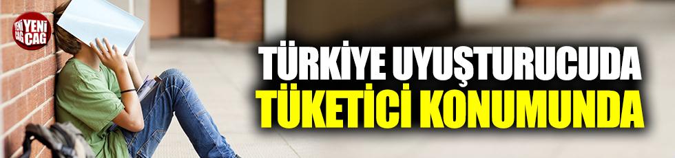 Türkiye uyuşturucuda tüketici konumuna geldi
