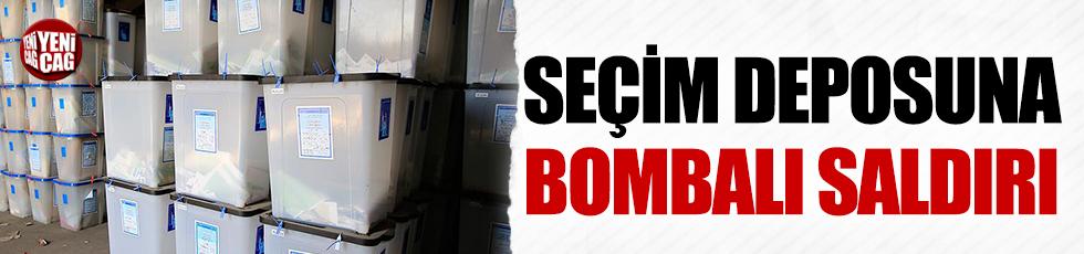 Kerkük'te seçim sandıklarının olduğu depoya saldırı