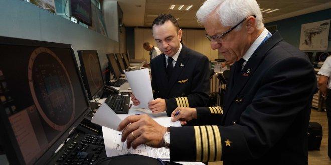 45 yıllık pilottan duygusal veda