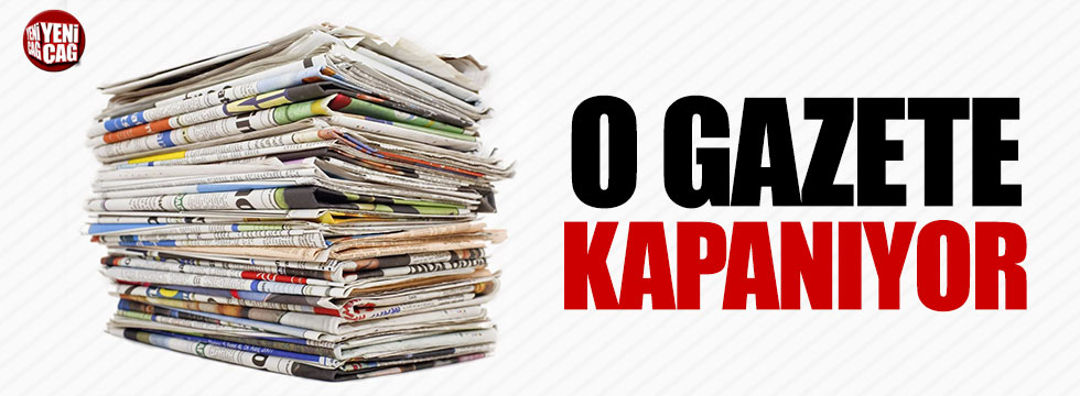 Habertürk gazetesi kapatılıyor iddiası