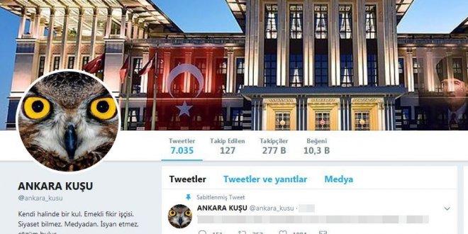 'Ankara Kuşu' adlı Twitter hesabı Meclis'i karıştırdı