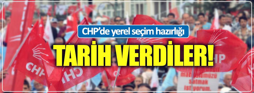 CHP'de yerel seçim hazırlığı