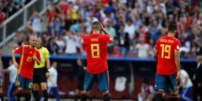 Rusya'ya elenen İspanya, Dünya Kupası'na veda etti