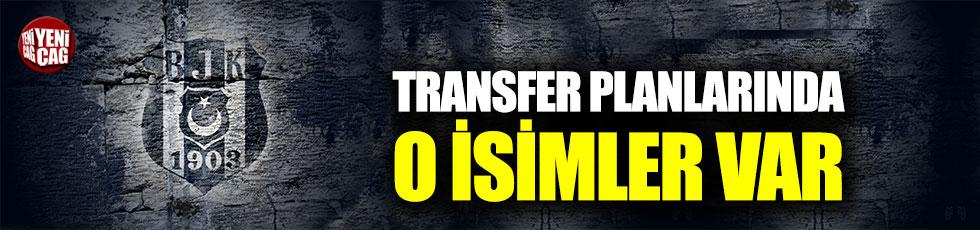 Beşiktaş'ın transfer planlarında 3 oyuncu var