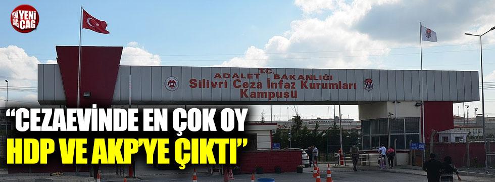 """""""Cezaevinde en çok oy HDP ve AKP'ye çıktı"""""""