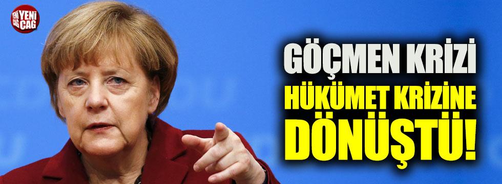 Almanya'da göçmen krizi hükümet krizine dönüştü