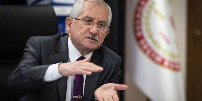 YSK Başkanı Güven'den kesin sonuç açıklaması