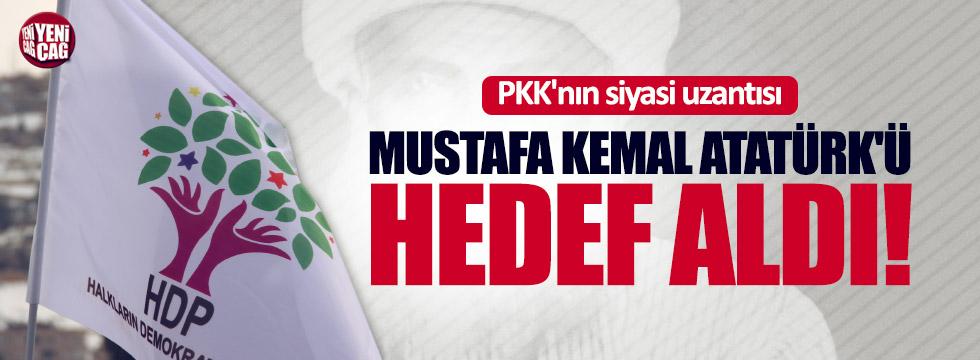 Şeyh Said'i anan HDP Atatürk'e dil uzattı