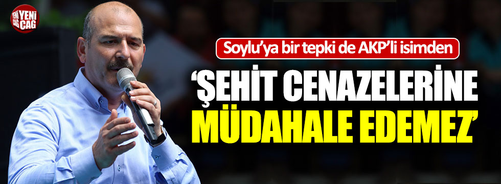 Soylu'un o talimatına AKP'li siyasetçiden tepki!