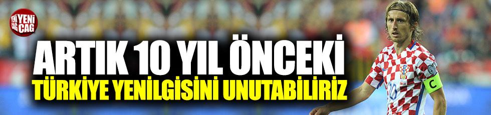 """Modric: """"Artık 10 yıl önceki Türkiye yenilgisini unutabiliriz"""""""