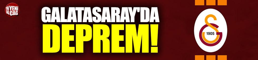 Galatasaray'da deprem!