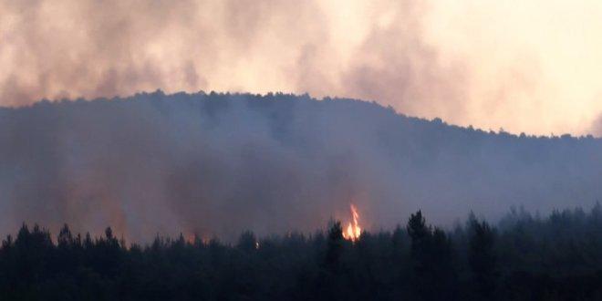 Aydos Ormanları'nda yangın