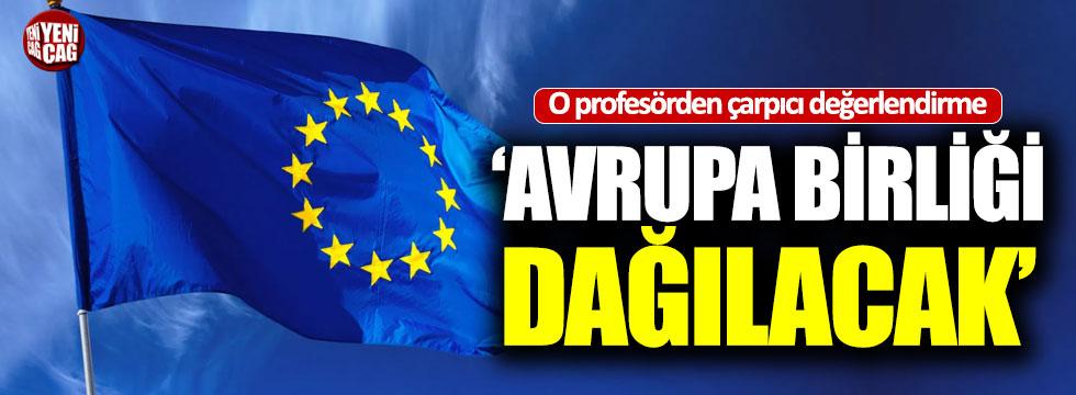 """Şen: """"Avrupa Birliği dağılacak"""""""
