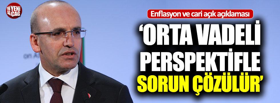 Mehmet Şimşek'ten enflasyon açıklaması