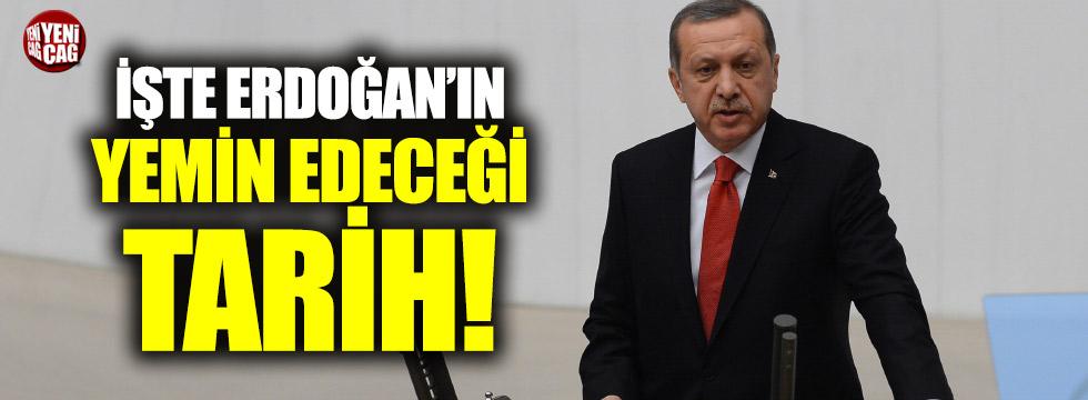 Erdoğan ne zaman yemin edecek?