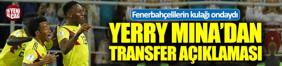 Yerry Mina'dan transfer açıklaması