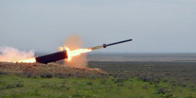Azerbaycan ordusunun tatbikatı sürüyor