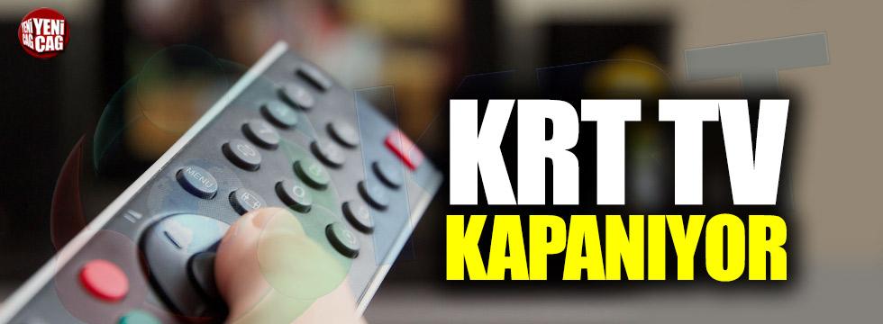 KRT TV kapanıyor