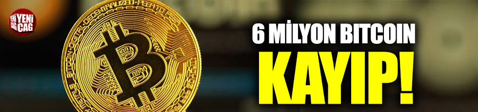 6 milyon Bitcoin kayıp