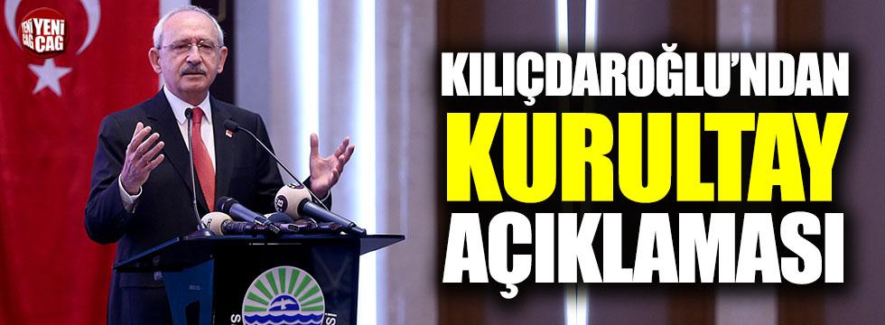 Kılıçdaroğlu'ndan 'kurultay' çıkışı