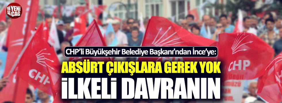 CHP'li Başkan'dan kurultay çağrısına 'absürt' nitelemesi