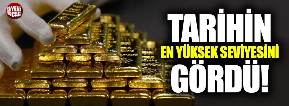 Bankalardaki altın hesaplarında patlama
