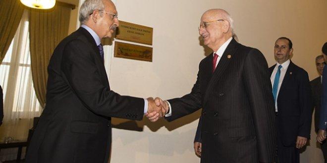 Kahraman, Kılıçdaroğlu'nu ziyaret etti