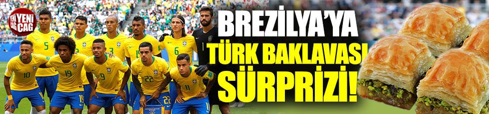 Brezilya'ya Türk baklavası sürprizi