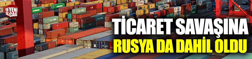 Rusya'dan ABD'ye ticaret savaşı hamlesi