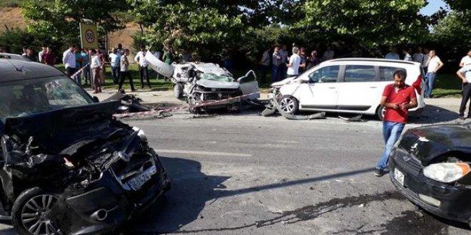 İstanbul'da feci kaza