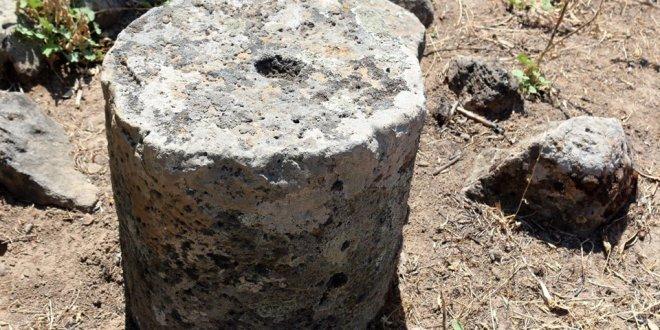Hatay'da Kayı Boyu sembolü olan mezar taşları bulundu