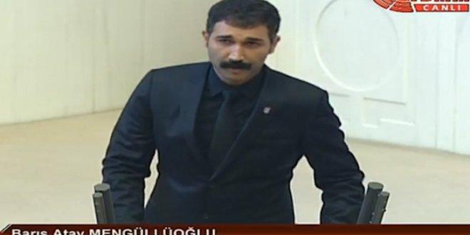 HDP'li vekile protesto!