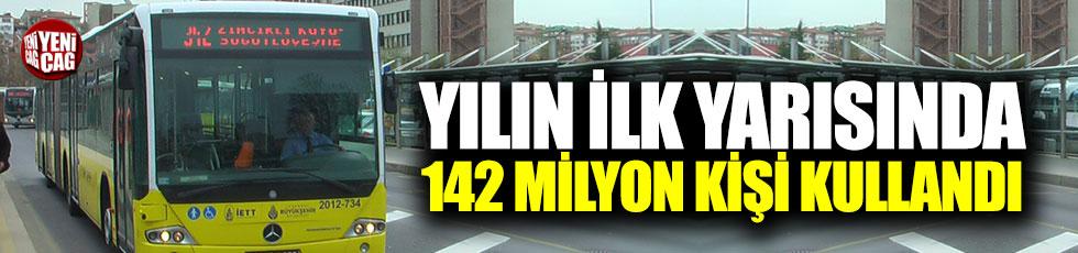 Yılın ilk yarısında 142 milyon kişi kullandı!