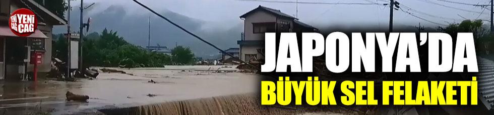 Japonya'da büyük sel felaketi