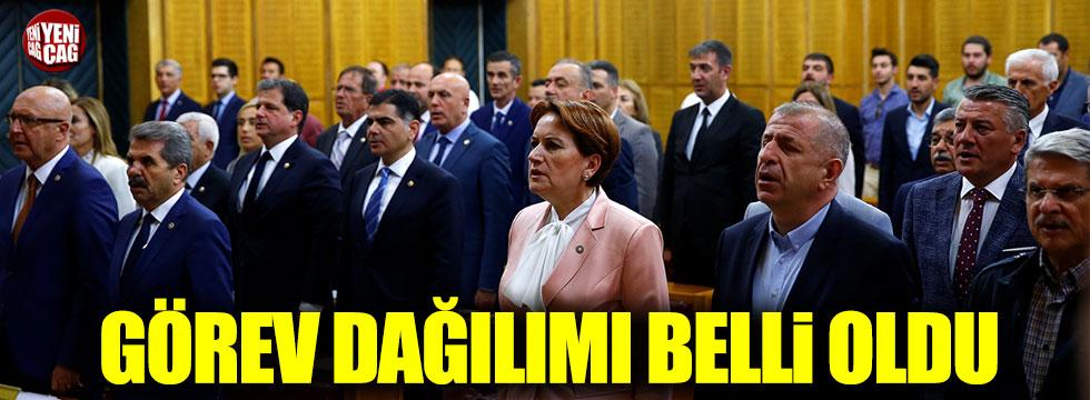 İYİ Parti'de Grup Başkanı ve Grup Başkanvekilleri belli oldu