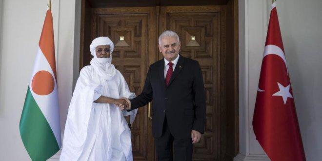 Yıldırım, Nijer Başbakanı Rafini ile görüştü