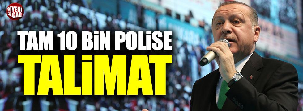 Erdoğan'ın göreve başlama törenine 10 bin polis katılacak