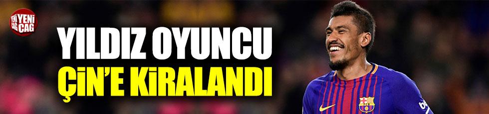 Paulinho, Çin'in Guangzhou kulübüne kiralandı