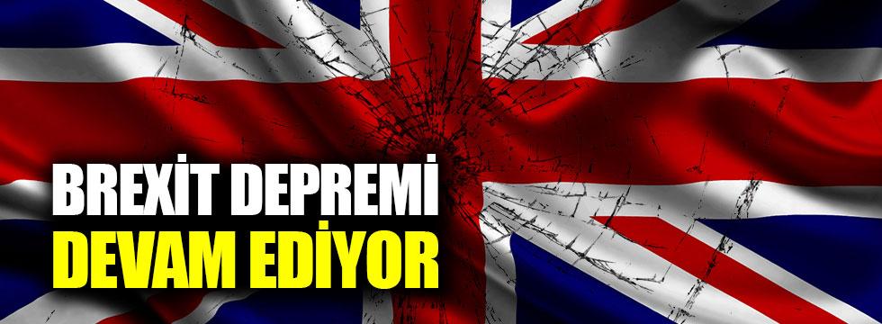 İngiltere'de Brexit depremi!