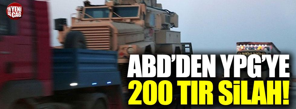 ABD'den YPG'ye 200 TIR silah sevkiyatı