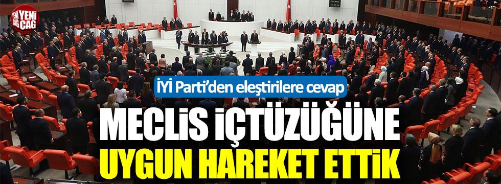 İYİ Parti Grup Başkanvekili Ağıralioğlu'ndan eleştirilere cevap